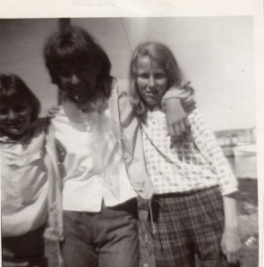 Me at about 13. I am in the middle.