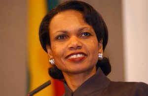 Condoleezza Rice, former United States Secretary of State